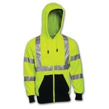 Tingley Job Sight™ S78122 Class 3 Hi-Viz Zip-Up Hoodie