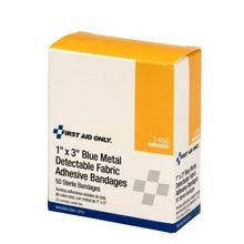 First Aid Only<sup>®</sup> G135 Metal-Detectable Adhesive Bandages