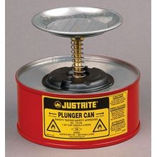 Justrite<sup>®</sup> Plunger Cans