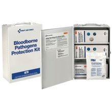 First Aid Only<sup>®</sup> 700 Bloodborne Pathogen (BBP) Spill Clean-Up First Aid Cabinet