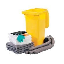 Evolution Sorbent Products DASH-U30 Wheeled Spill Kit, Universal