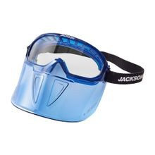 SureWerx Jackson Safety<sup>®</sup> 21000 GPL500 Safety Goggles with Detachable Faceshield