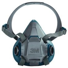 3M™ 6500 Silicone/Nylon Rugged Comfort Reusable Respirator