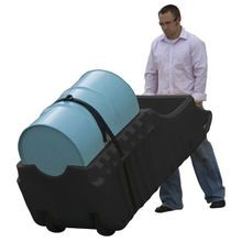 Justrite<sup>®</sup> EcoPolyBlend™ 28665 Spill Containment Caddy