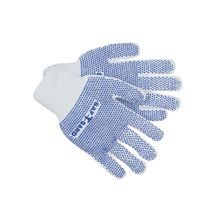 Saf-T-Gard<sup>®</sup> Comfo-Grip<sup>®</sup> PVC-Dotted String Knit Work Gloves, Standard Weight