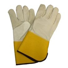 Saf-T-Gard<sup>®</sup> 4864 Leather Palm and Back Gloves