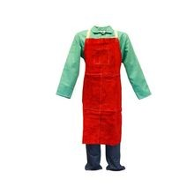 Stanco 536CL-RUST Leather Bib Apron