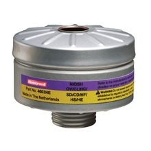 Honeywell North® 4003HE Organic Vapor/Acid Gas Cartridge and HEPA Filter Combination