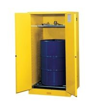 Justrite® Sure-Grip® EX 55-Gal Vertical Drum Storage Cabinets