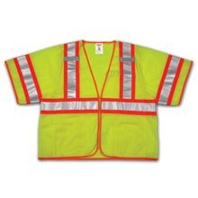 Tingley Job Sight™ V70332 Class 3 Two-Tone Hi-Viz Vest