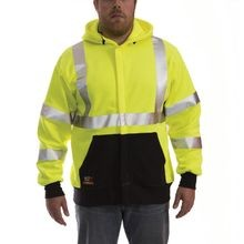 Tingley FR™ S88122 FR Class 3 Hi-Viz Zip-Up Hoodies