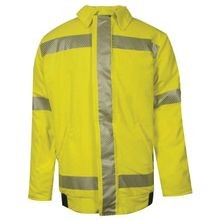 National Safety Apparel<sup>®</sup> C34TZMQ-C3 FR Hi-Viz Bomber Jacket