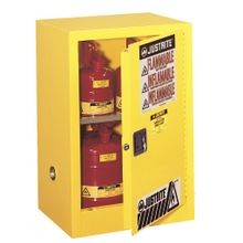 Justrite® Sure-Grip® EX 12-Gal Compac Safety Cabinet for Flammables