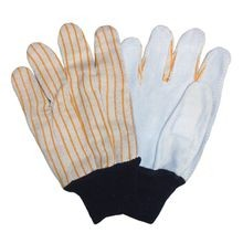 Saf-T-Gard<sup>®</sup> 2843 Select Split Leather Palm Gloves with Knit Wrist Cuff
