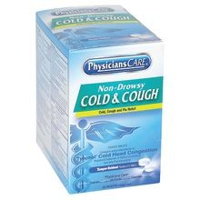 PhysiciansCare<sup>®</sup> 90-092 Non-Drowsy Cold & Cough (Compare to Tylenol<sup>®</sup> Cold Head Congestion)