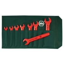 Wiha 20192 Insulated Open End Inch Wrench 8-Piece Set