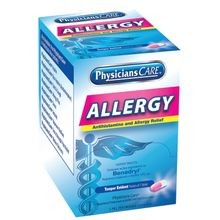 PhysiciansCare® 90-036 Antihistamine Allergy Medication (Compare to Benadryl®)