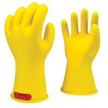 Honeywell Salisbury E-011Y Rubber Insulating Gloves