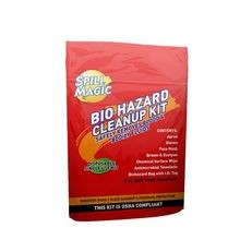 First Aid Only® SM-BIOHAZARD Spill Magic™ Biohazard Cleanup Kit