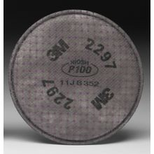 3M™ 2297 P100 Particulate Filter with Nuisance Level Organic Vapor Relief