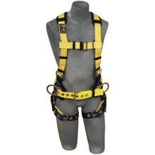 3M™ DBI-SALA® Delta™ Positioning Construction Harnesses w/ Tongue-Buckle Legs