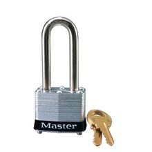 Master Lock<sup>®</sup> 3LH Steel Safety Padlocks, 2