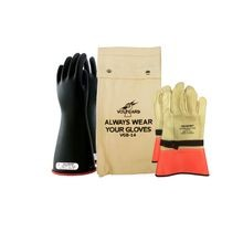 Saf-T-Gard® Voltgard® VGK-114RB Honeywell Salisbury Rubber Insulating Glove Kits
