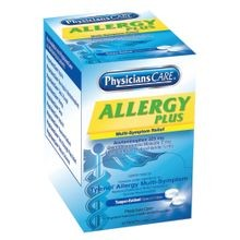 PhysiciansCare® 90-091 Allergy Plus Multi-Symptom Relief (Compare to Tylenol® Allergy Multi-Symptom)