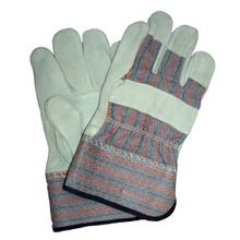 Saf-T-Gard<sup>®</sup> Shoulder Split Leather Palm Gloves with 2 1/2