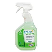Clorox® Green Works® Naturally Derived All-Purpose Cleaner - Quart Size Bottle (00456)