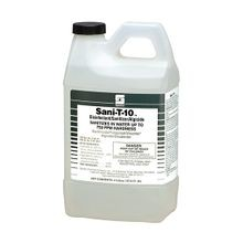 Spartan® COTG® #12 Sani-T-10® Disinfectant Sanitizer & Algaecide - 2 Liter Bottle Size (480002)