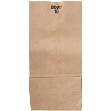Duro Bag® 10 lbs Kraft Grocery Bag (18410)