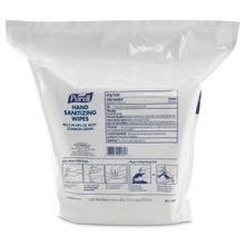 GOJO® PURELL® Sanitizing Wipes Refill Pouch (9118-02)