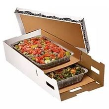 Insulated Double Cater Box Food Carrier, White (C-DOUBLE)