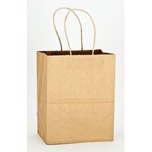 Duro Bag® Tempo Kraft Paper Twist Handle 8