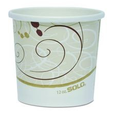 DART® Solo® Symphony™ 12 oz Hot and Cold Container (H4125-J8000)