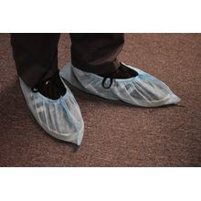 Non-Woven Blue Shoe Covers