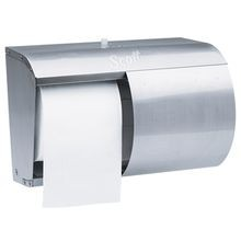 Kimberly Clark® Stainless Steel Coreless Double Roll Tissue Dispenser (09606)