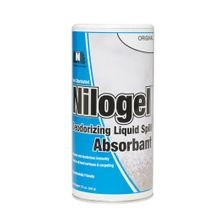 Nilodor® Nilogel™ 12 oz Shaker Can (Non-Chlorinated) Liquid Spill Absorbent & Deodorizer (8-NLC)