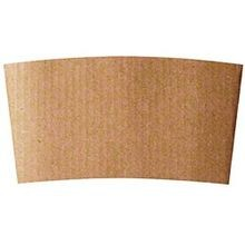Plain Kraft 10 oz - 20 oz Paper Hot Cup Sleeves (VC-003)
