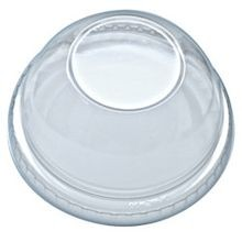 Fabri-Kal® Clear Pet Dome Lid - No Hole (DLKC9/10NH)
