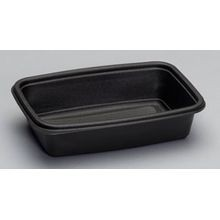 Genpak® Smart Set Pro Black 32 oz Microwave Safe Container (FPR032)