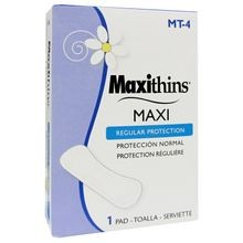 Maxithins Sanitary Napkin #4 Box (Mt-4)