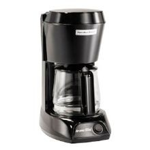 Hamilton Beach® 4 Cup Black Coffee Maker with Glass Carafe (HDC500C)