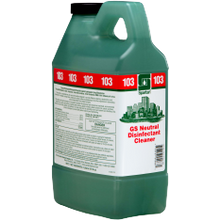 Spartan® COTG® #103 Green Solutions® Neutral Disinfectant Cleaner - 2 Liter Bottles (351302)