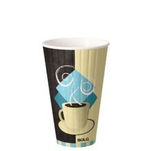 DART® Solo® Tuscan Café™ 20 oz Insulated Duoshield™ Paper Hot Cup (IC20)