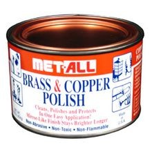 Met All Brass & Copper Polish 1 Lb