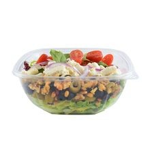 Fineline Settings® Super Bowl Plus Clear 48 oz Square Bowl (15048M)