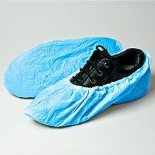 Blue Poly Large Shoe Cover (RSCCLP-150E)