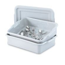 Vollrath® Silverware Soak System Gray 20